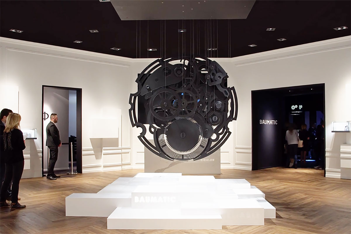 SIHH 2019 Baume & Mercier Merchandising, Visual Design, Event